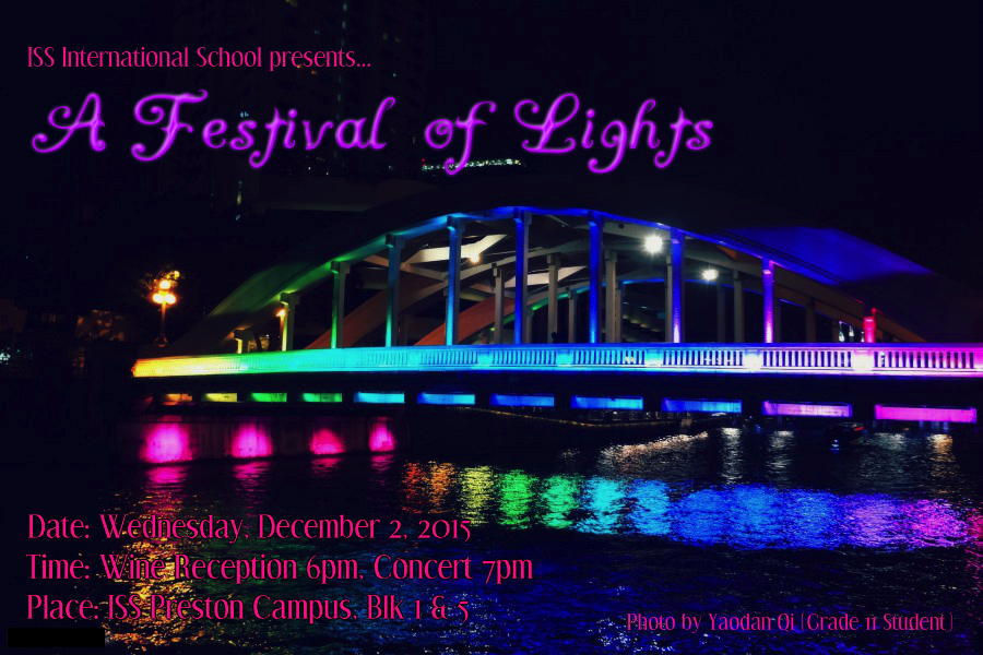 Festival of Lights 2015 poster
